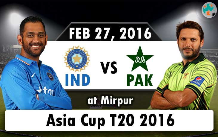 India vs Pakistan Asia Cup T20 Live Score & Streaming Updates