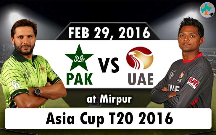 pakistan vs uae asia cup