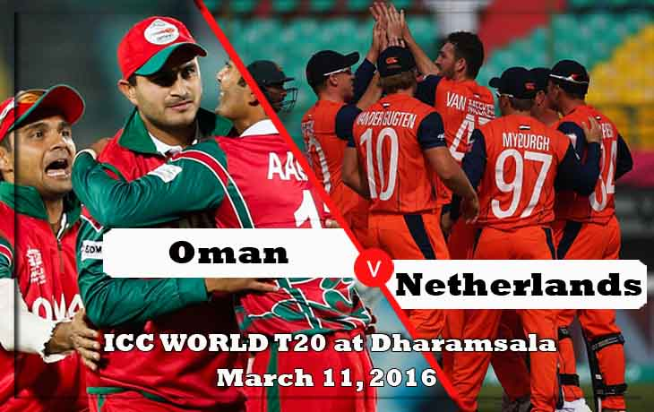 oman vs netherlands icc world cup 2016