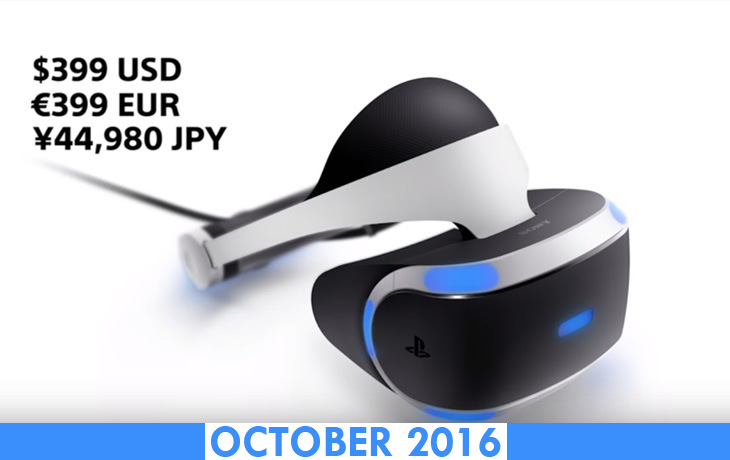 Sony PlayStation VR - Release Date, Specs & Price Revealed