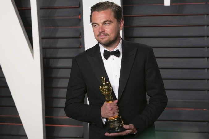 best actor dicaprio oscar