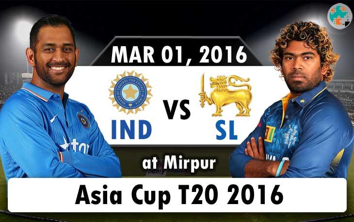 india vs srilanka asia cup 2016