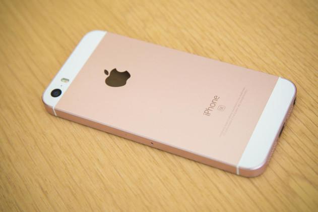iphone se back side