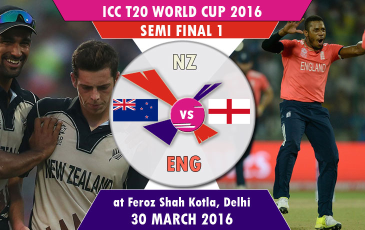 New Zealand vs England T20 World Cup Semi Final 1