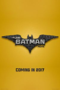 the lego batman logo poster