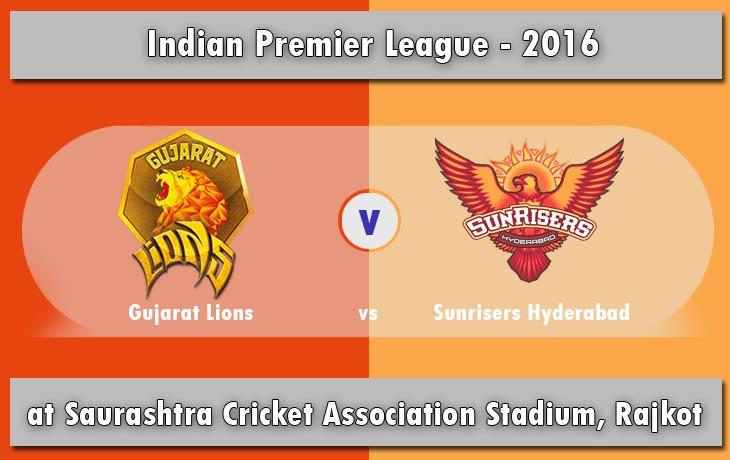 IPL 2016: GL vs SRH Match 15 - Live Score & Streaming Updates