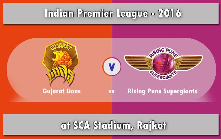 IPL 2016: GL vs RPS Match 6 - Live Score & Streaming Updates