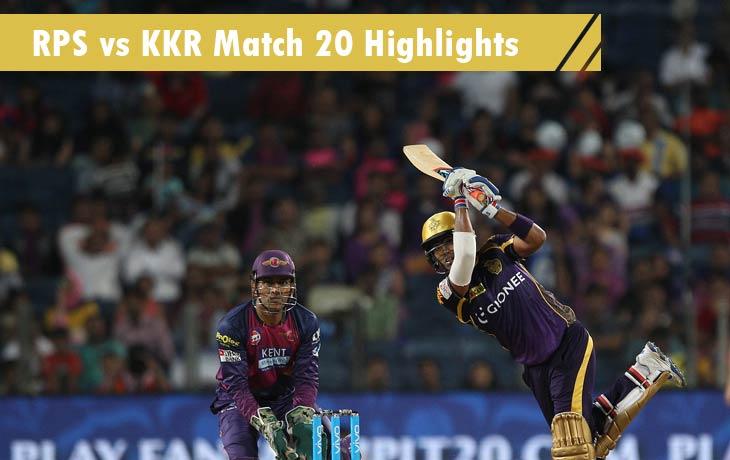 RPS vs KKR Highlights