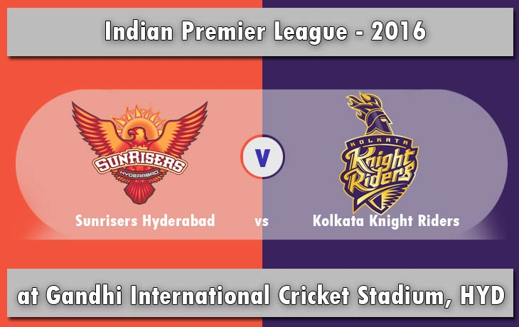 Match 8: Sunrisers Hyderabad vs Kolkata Knight Riders SRH vs KKR ...