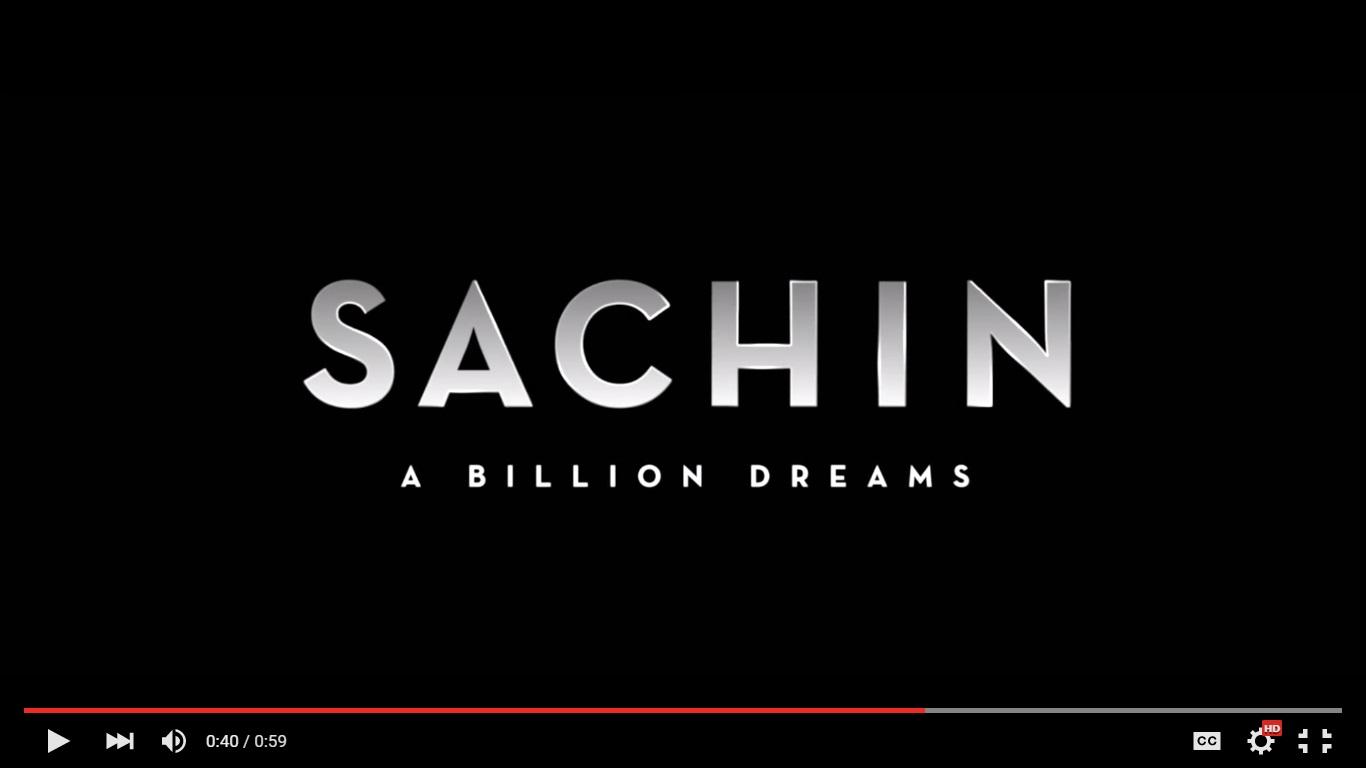 Sachin Tendulkar Biopic Teaser