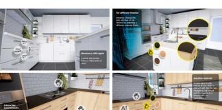 virtual reality app for kitchen