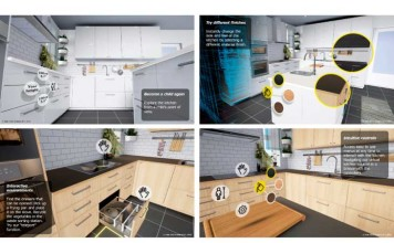 virtual reality app for kitchen