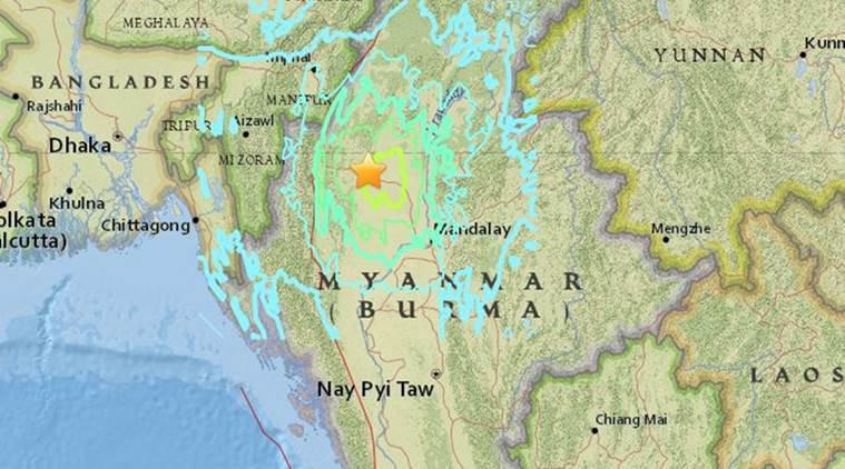 Myanmar Earthquake Hits East India Too | 6.9 Magnitude