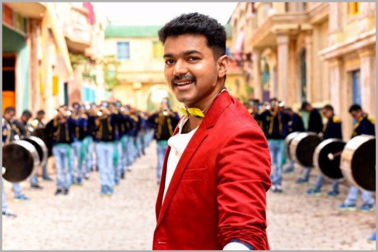 theri audio release function image