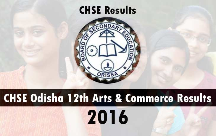 CHSE 12th Result 2016