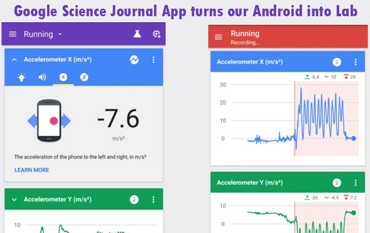 Google Science Journal App