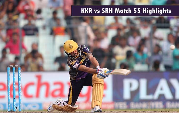 KKR vs SRH Highlights