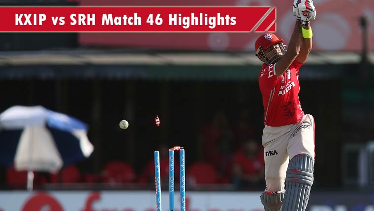 KXIP vs SRH Highlights