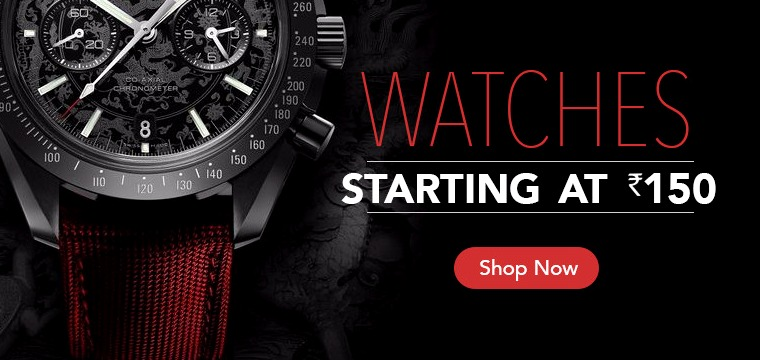 Mr Voonik Watches Starting at 150 INR