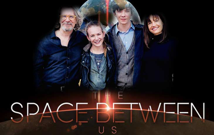 The First Trailer THE SPACE BETWEEN US