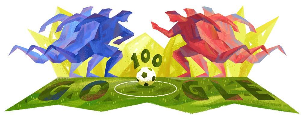 Copa America Google Doodle