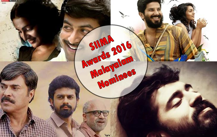 5th SIIMA Awards 2016 malayalam nominees winner live show