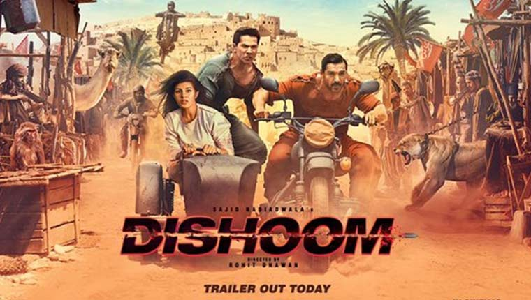 Dishoom Movie Offical Trailer