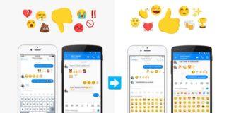 Facebook Messenger New Emoji