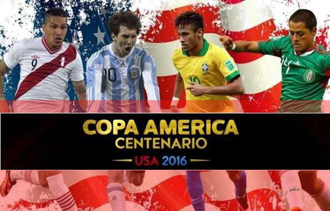 Copa America Centenario 2016 Telecast TV Channels Live Streaming List