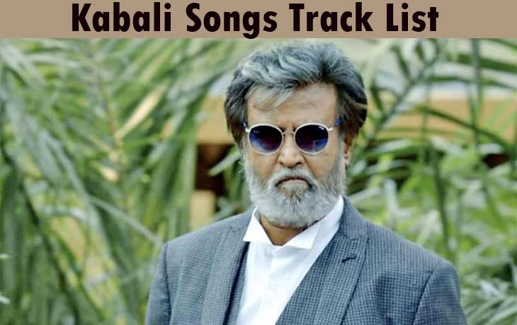 kabali-songs-track-list