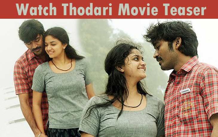 Thodari Movie Teaser