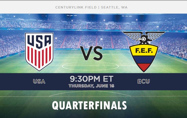 United States vs Ecuador