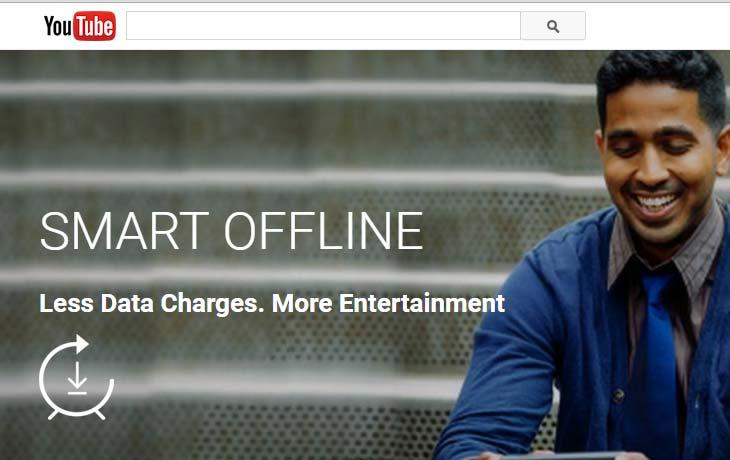 YouTube Smart Offline Saves Mobile Data