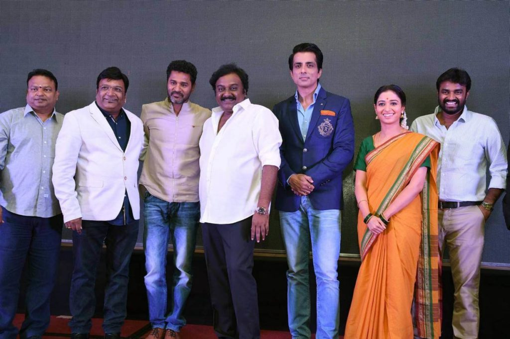 Abhinetri Movie Audio launch in August