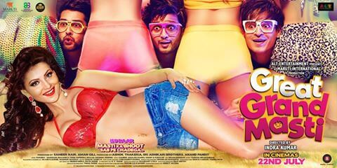 Great Grand Masti Review, Rating