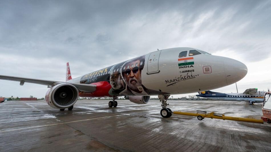 Kabali Aircraft-Flights Promotion