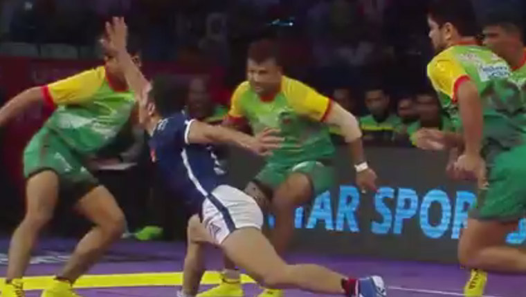 Patna Pirates Won the Match against Dabang Delhi