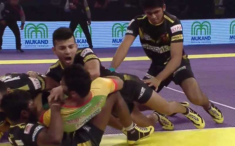 Telugu Titans Won the Match against Patna pirates