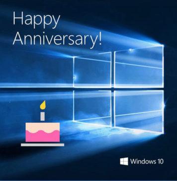 Windows 10 First Anniversary: Windows Insider Celebration