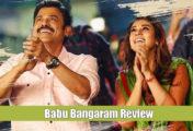 Babu Bangaram Review, Rating, Story, Live Audience Response