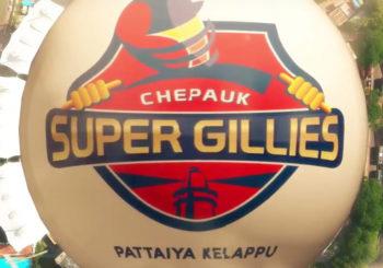 Watch Chepauk Super Gillies Anthem Song: TNPL 2016