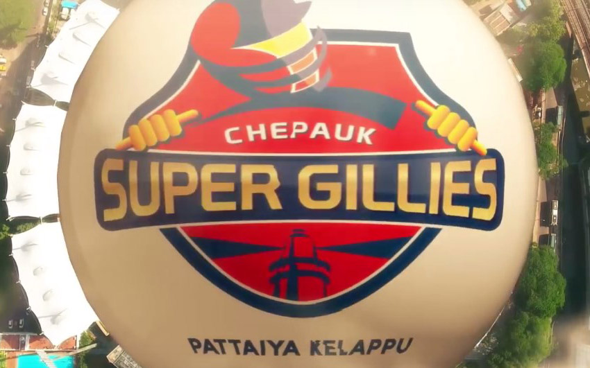 Chepauk Super Gillies Anthem Song
