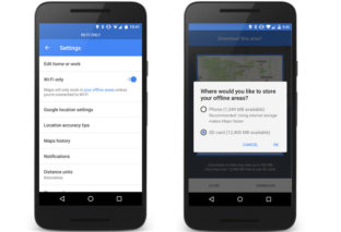 Google Maps New Offline Feature: Save your Data and Store