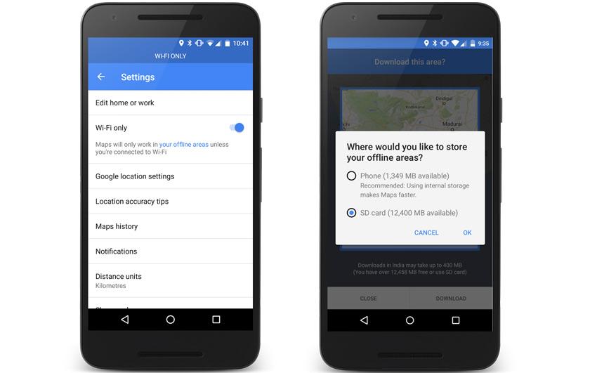Google Maps New Offline Feature