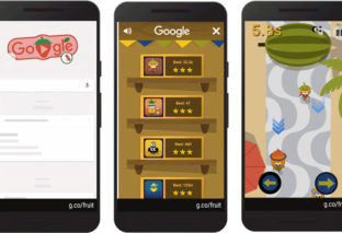 2016 Google Doodle Go Bananas Fruit Games for this Two Weeks!
