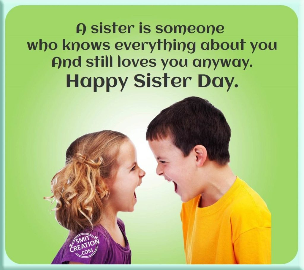 Happy Sister And Brothers Day: Happy National Sister's Day 2016 Messages, Quotes, HD