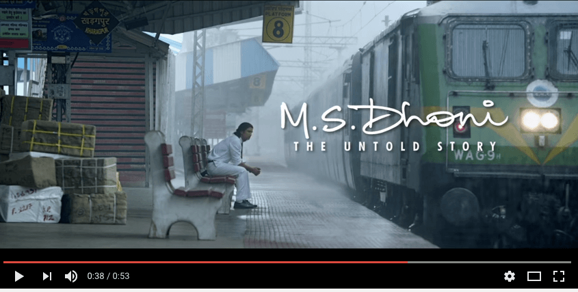 Watch MS Dhoni The Untold Story Trailer Launched at LPU