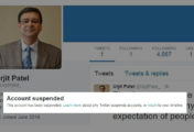 Urjit R. Patel fake Twitter account deleted (RBI governor) by Twitter