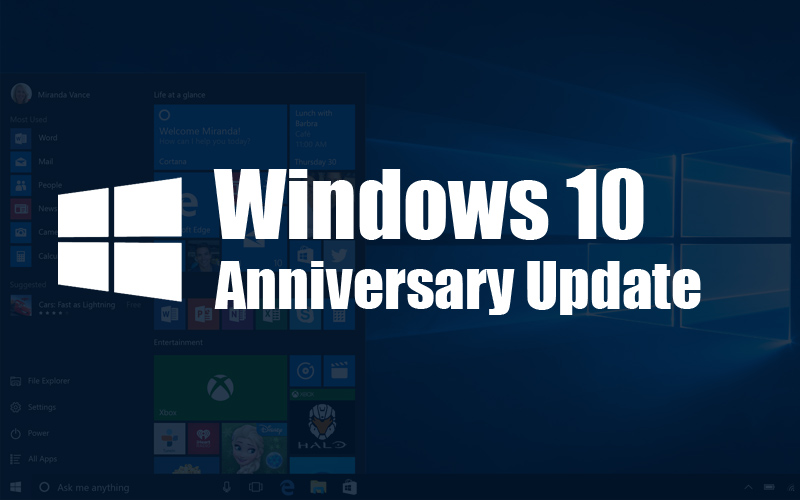 Windows 10 Anniversary Update Available Now! Read Highlights