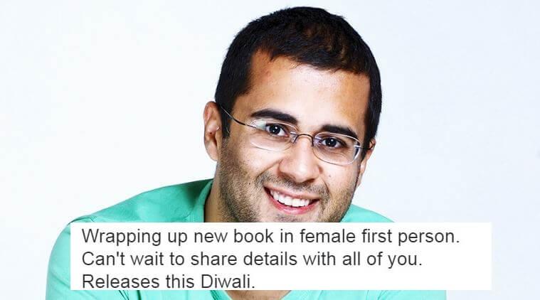 Chetan bhagat New Book